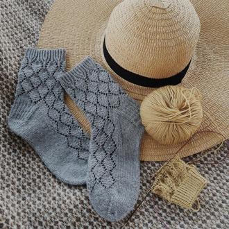 Вязаные носки #berezka_socks