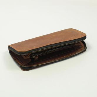 Портмоне , мужские портмоне из натуральной кожи, портмоне унисекс, вместительный кошелек