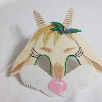 Карнавальная маска Мамы-Козы