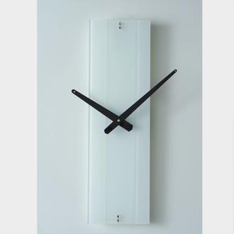 Часы настенные Strip 3 белые