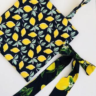 Яркий летний набор My Scarf ( сумка+обруч)