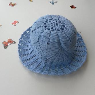 Детская летняя панамка, летняя шляпка, лёгкая панамка