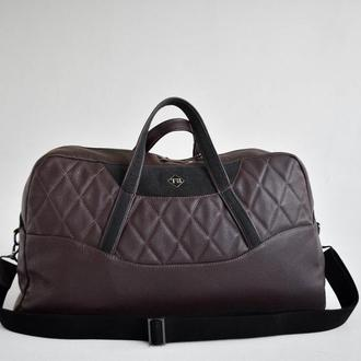 Мужская  дорожная сумка эко-кожа Auto-Sport Bag-tb002