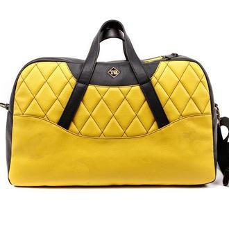 Дорожная сумка из натуральной кожи Auto-Sport Bag tb003-2