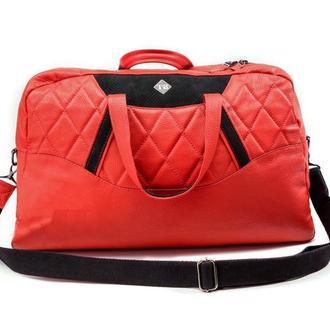 Дорожная сумка эко-кожа Auto-Sport Bag tb003-3