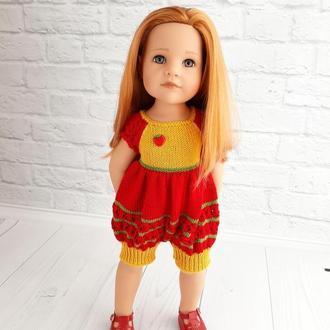 Одежда на куклу Готц Ханна 50 см, комбинезон для куклы Готц, подарок декочке