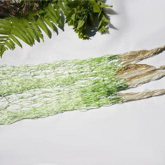 Авоська плетеная 12x51 см