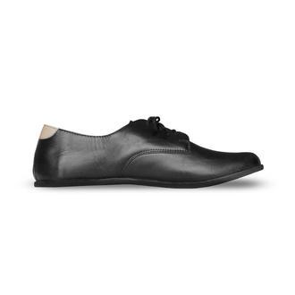 Кожаные оксфорды  (босо-обувь)