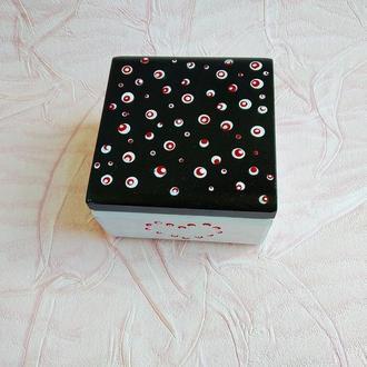 Шкатулка коробка для прикрас