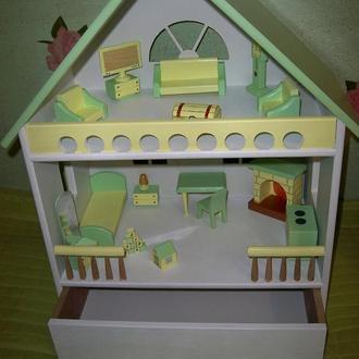 Кукольный домик - переносной.