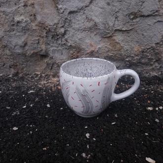 Чашка керамическая, 350 мл
