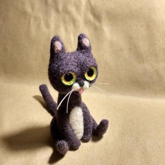 котик из шерсти