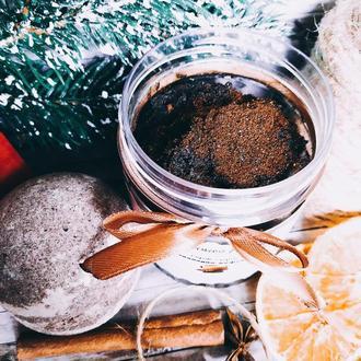 Скраб-суфле «Шоколадно-кофейный»