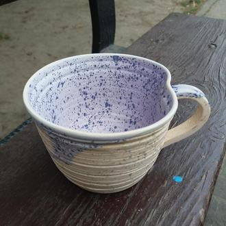 Чайная керамическая чашка