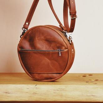 Кожаная сумка Наоми