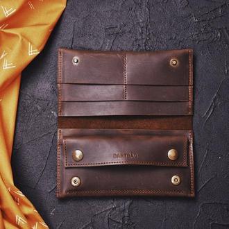 Кожаный кошелек Лора