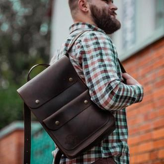 Кожаный рюкзак Артур