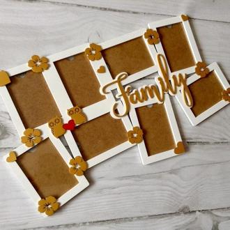 Семейные фоторамки