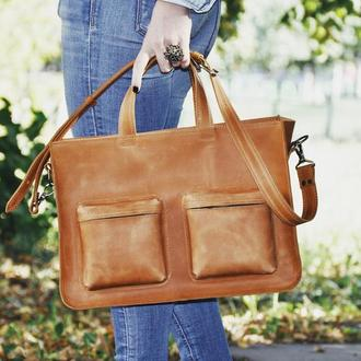"Кожаная сумка ""Милдред"""