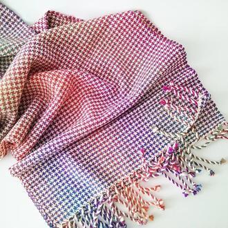 Тканый шарф Межсезонье 3