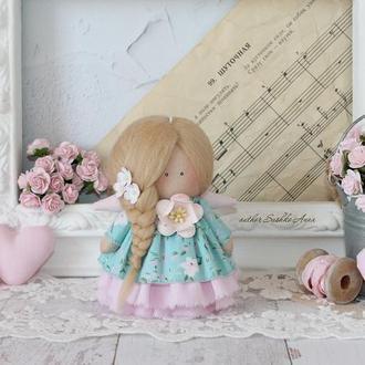 Кукла ручной работы, ангел тильда