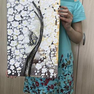 """Картина """"Дерево життя і метелик"""""""