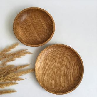 Миска из дерева, тарелка из дерева, Супница, полосе боул