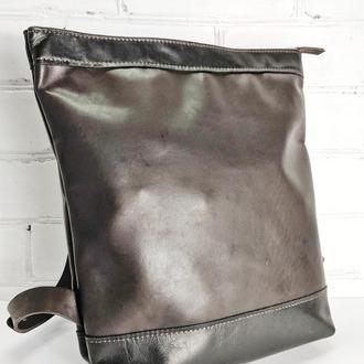 Кожаный рюкзак, сумка из кожи