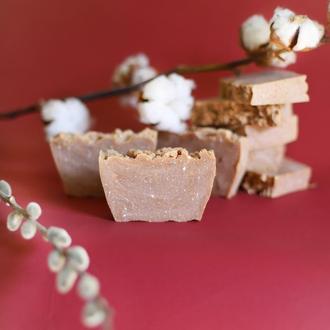 Подсушивающее антиугревое мыло для комбинированной и жирной кожи «Облако Ванили» 100 г.