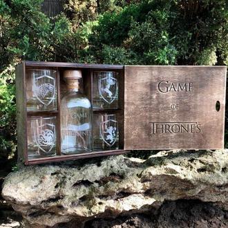 Game of Thones - подарочный набор для виски Игра Престолов