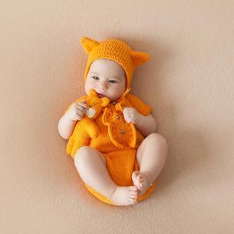 Комплект лисички для фотосессии новорожденных