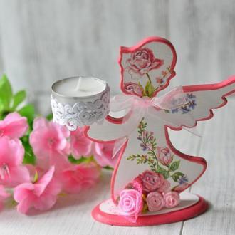 Интерьерный подсвечник ′Ангел′