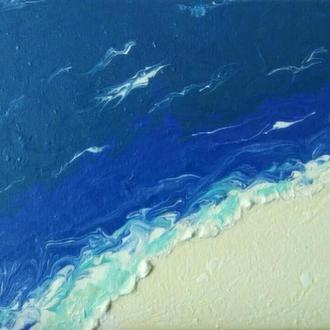 """Картина """"А я на море"""", 20*30 см"""