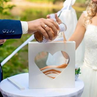 короб-рамка для песочной церемонии