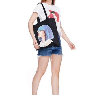 Эко сумка. Эко сумка с  принтом. Сумка шоппер. Сумка для покупок.