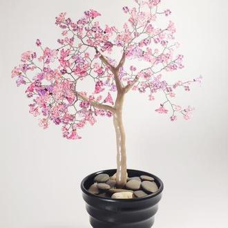 """Декоративное дерево-бонсай """"Азалия"""""""
