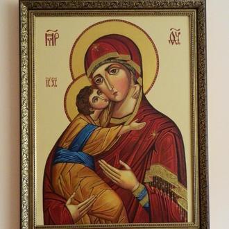 Богородица Умиление (Елеуса) по образцу иконы Кристины Дохват