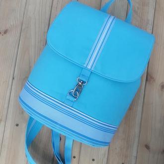 Летний джинсовый рюкзачок
