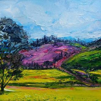 Літній пейзаж, сучасна живопис мастихін