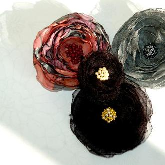 Цветы для волос (резинки)