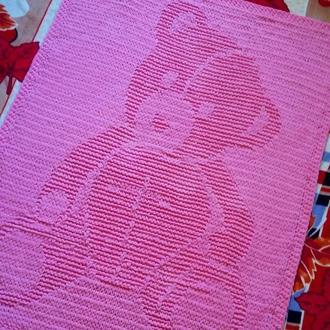 Плед плюшевый детский Мишка 120*160 см