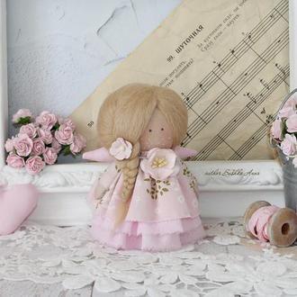 Куколка малышка. Ангел ручной работы!
