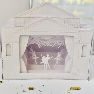 Открытка-театр в коробочке