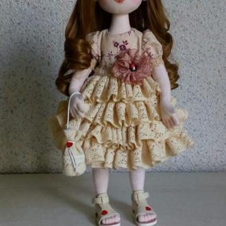 текстильная кукла Шейла.