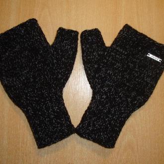 Митенки перчатки без пальцев мужские - Тренд 2019/2020