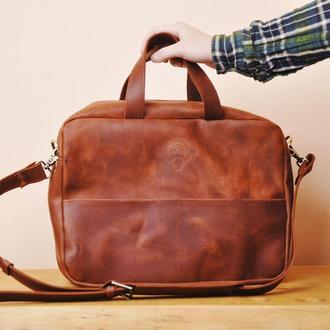 """Кожаная сумка """"Остин"""""""