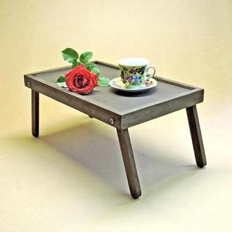 Столик-поднос для завтрака Орегон мокко