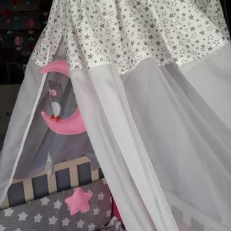 Балдахин в кроватку Stars