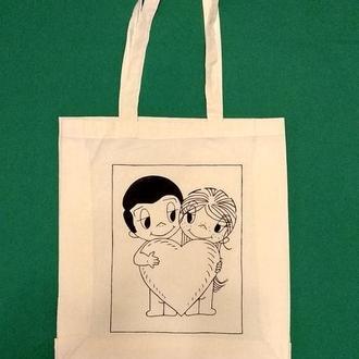 """Эко шоппер (Эко сумка)""""Love is..."""""""