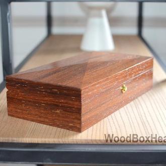 Купюрница из дерева, свадебная шкатулка для денег, украшений